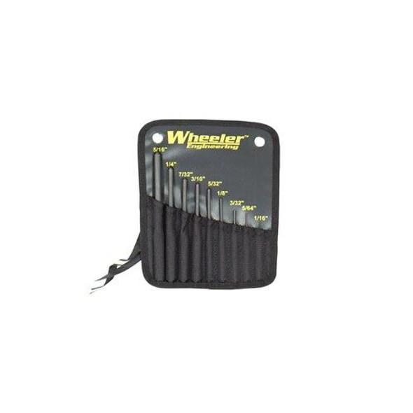 WHEELER Wheeler 9 Piece Roll Pin Punch Set