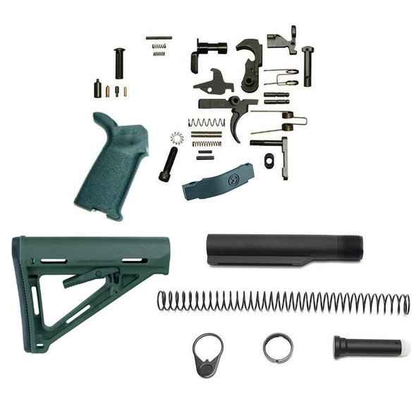 MAGPUL Magpul MOEr Lower Build Kit for AR 15 Stealth Grey