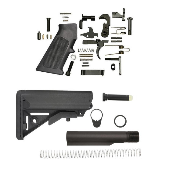BLACK RIFLE DEPOT SOPMOD AR 15 Lower Build Kit