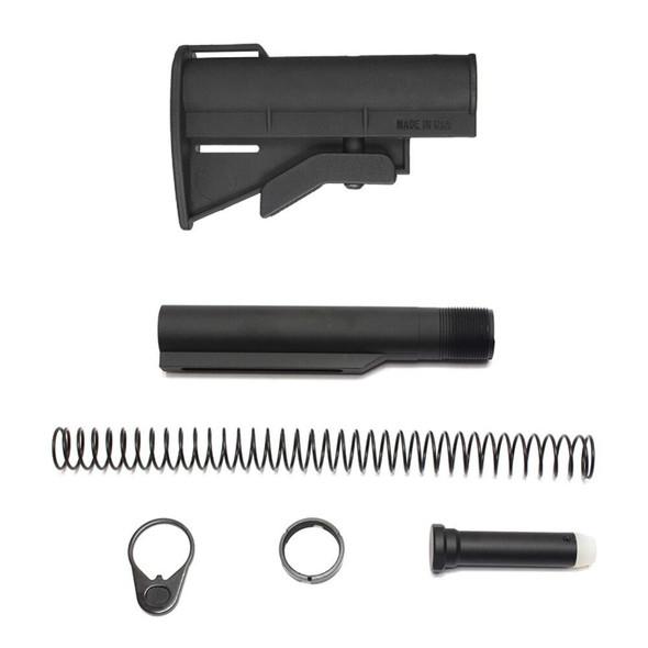 BLACK RIFLE DEPOT CQC 4 Position Micro AR 15 Stock Kit