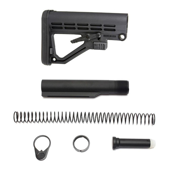 BLACK RIFLE DEPOT JE5 AR 15 Stock And Buffer kit
