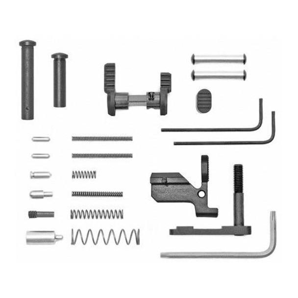 ARMASPEC Armaspec AR 10 Lower Parts Kit Less FCGGrip - BLK