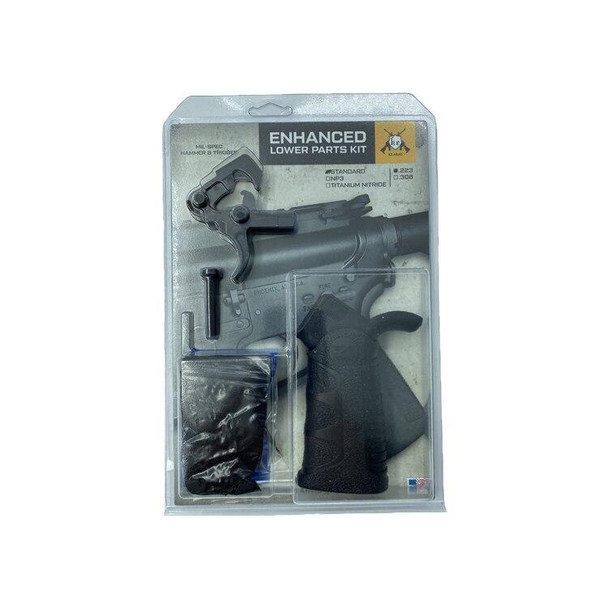 KE Arms KE Arms AR 15 Enhanced Lower Parts Kit, AR 15 Lower Parts Kit, AR 15 Lower Parts, AR 15 Lower Kit, AR 15 Parts, AR15 Parts, AR 15 Accessories, Best AR 15 Lower Parts Kit, AR 15 LPK, American Made AR 15 LPK
