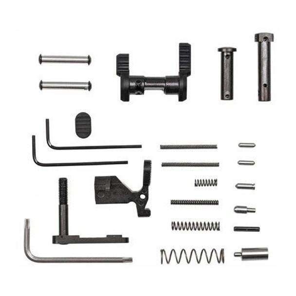 ARMASPEC Armaspec AR 15 Gun Builders Lower Parts Kit Less FCGGrip-BLK