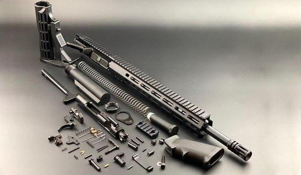 BLACK RIFLE DEPOT 16 5.56 Standard Carbine Rifle Build Kit W/13 M-LOK Handguard