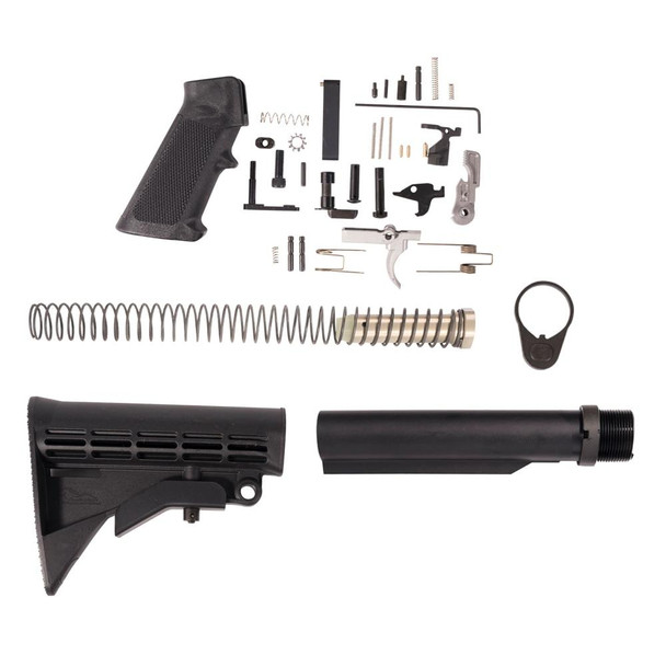 ANDERSON MANUFACTURING Anderson Lower Build Kit, AR 15 Lower Build Kit, AR 15 Lower Kit, AR15 Lower Build Kit, AR 15 Lower Parts, AR 15 Lower Receiver Parts, AR15 Kit, AR 15 Kit, Best AR 15 Lower Build Kit, American Made AR 15 Lower Build kit