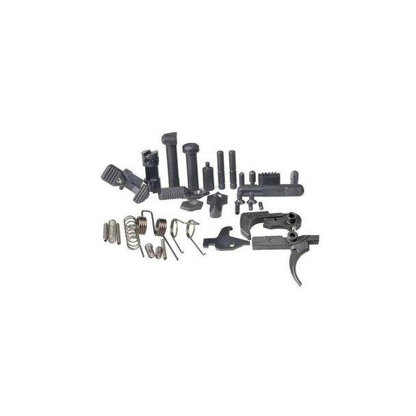 STRIKE INDUSTRIES Strike Industries AR 15 Enhanced Lower Parts Kit without Grip, AR 15 LPK, AR 15 Lower Parts Kit, AR 15 Parts