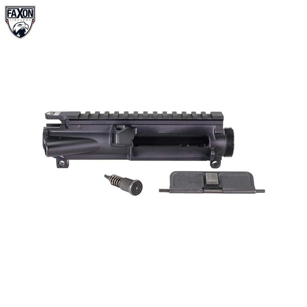 FAXON Faxon Firearms Forged 7075-T6 AR 15 Upper Receiver - Anodized