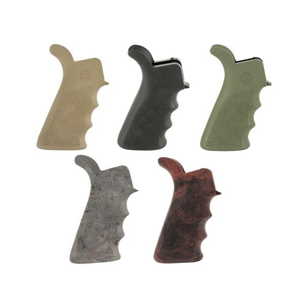 HOGUE Hogue Beavertail Pistol Grip w/ Finger Grooves