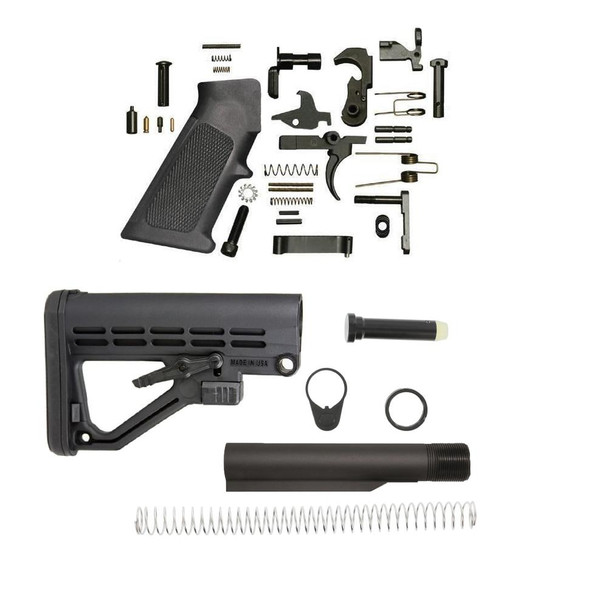 BLACK RIFLE DEPOT JE5 AR 15 Lower Build Kit