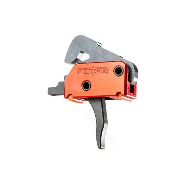 PATRIOT ORDNANCE FACTORY POF Enhanced Finger Placement Two Stage AR 15 Drop-In Trigger