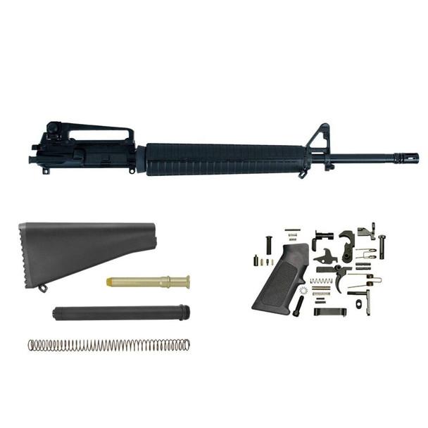 BLACK RIFLE DEPOT AR 15 Rifle Build Kit with 20 Barrel
