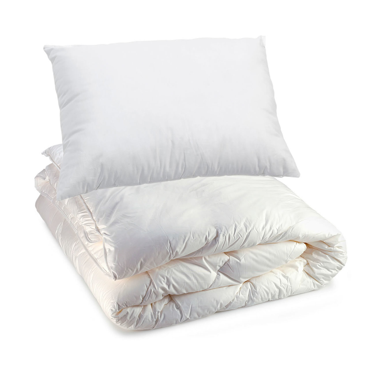 Polyester Poly-cotton Cover Cot Bed mTextile Summer Season Duvet Quilt 7.5 Tog Non Allergenic Hollowfibre