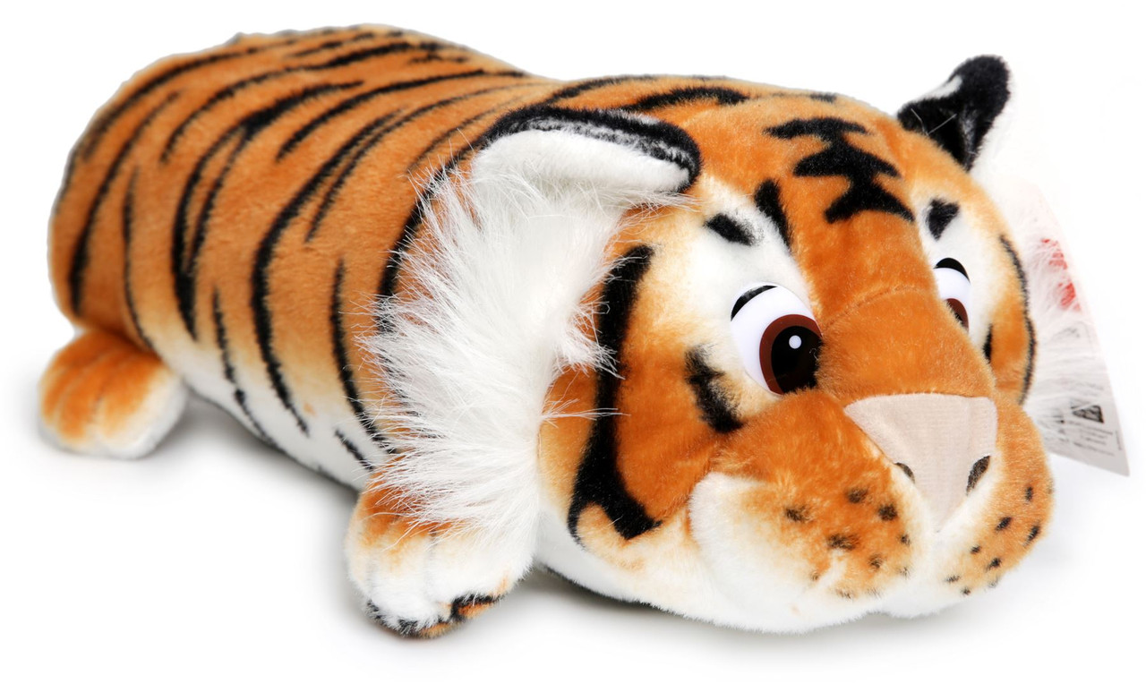 Terrence The Sleepy Tiger 16 Inch Large Plush Pillow Soft And