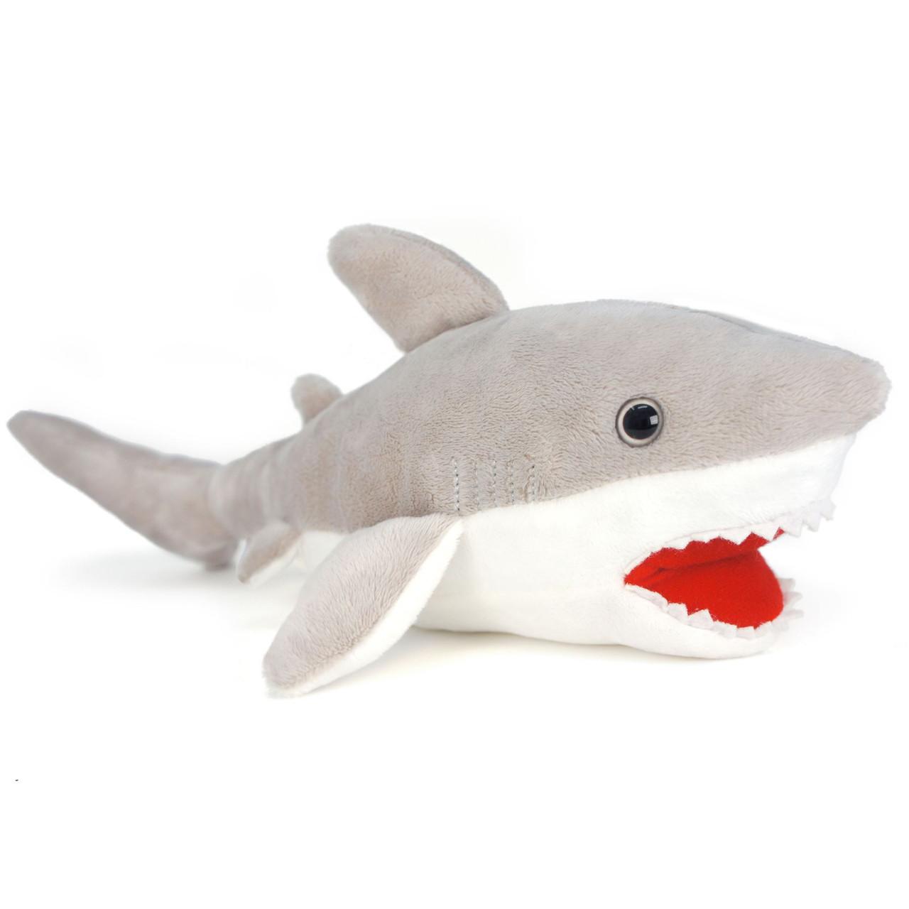 Mason The Great White Shark 16 Inch Large Stuffed Animal Plush