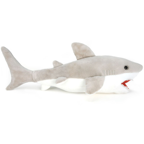 Mason The Great White Shark 16 Inch Large Stuffed Animal Plush