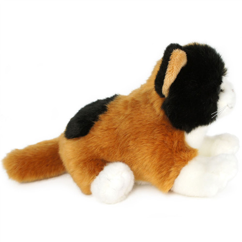 Caliope The Calico Cat 7 Inch Without Tail Animal Plush By
