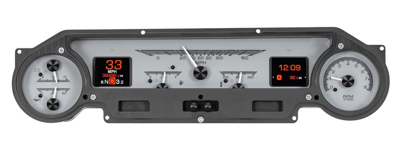 Dakota Digital 1964-65 Ford Falcon Ranchero Mustang Analog Gauge System  HDX-64F-FAL-K