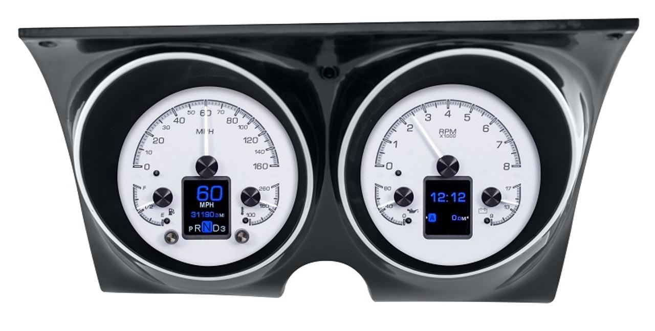 Dakota Digital 67 68 Chevy Camaro Firebird Hdx Gauge Instrument System Hdx 67c Cam