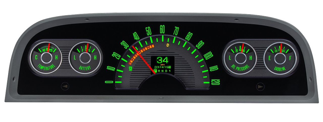 Dakota Digital 1960-63 Chevy Pickup Truck Retrotech Gauge Instrument System  RTX-60C-PU-X