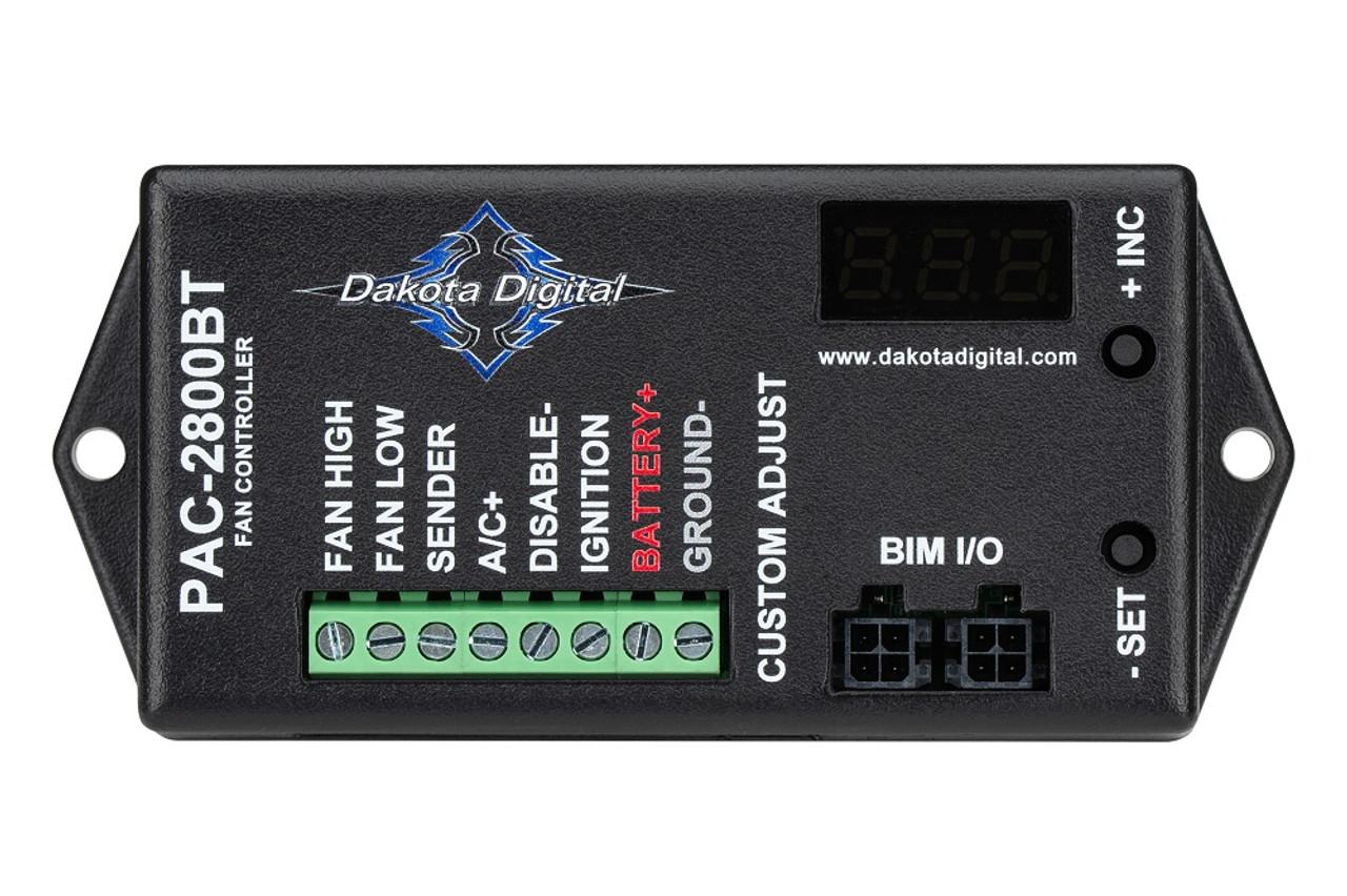 Dakota Digital PAC-2750 Programmable Electronic Fan Controller w// 70 Amp Relay