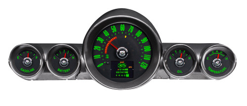 RTX-59C-IMP-X Emerald Theme, Bezel/gauge pods are NOT included