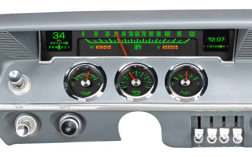 RTX-61C-IMP-X Emerald Theme, Bezel is NOT included