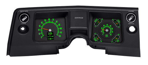 RTX-68C-CVL-X, Emerald Theme, Bezel is NOT included, shown for illustrative purposes only