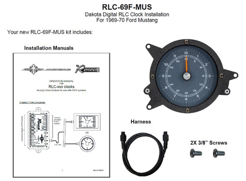 RLC-69F-MUS Included Items