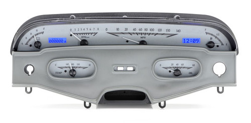 VHX-58C-IMP-S-B with SILVER ALLOY style and BLUE backlighting (bezel is NOT included)
