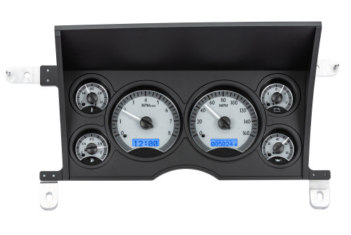 VHX-86C-S10-S-B (silver alloy style/blue backlighting)