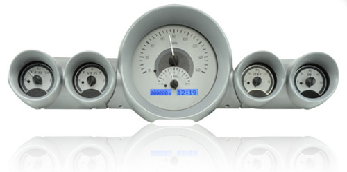 VHX-59C-IMP-S-B with SILVER ALLOY style and BLUE backlighting, bezel is NOT included
