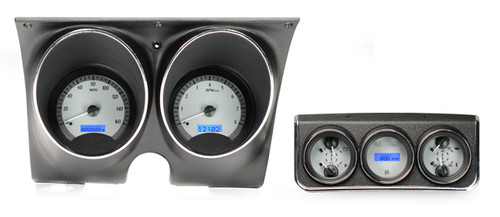 VHX-67C-CAC-S-B with SILVER ALLOY style and BLUE backlighting, bezel/housing are NOT included