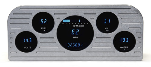 Dakota Digital 37 38 Ford Car 5 Gauge Dash Cluster Instrument System VFD3-37F