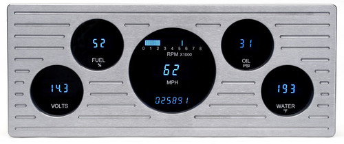 Dakota Digital 39 Ford Car Full 5 Gauge Dash Cluster Instrument System VFD3-39F