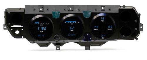 Dakota Digital 70 71 72 Chevy Chevelle El Camino Monte Carlo 71 GMC Sprint SP Dash Gauge Cluster VFD3-70C-CVL