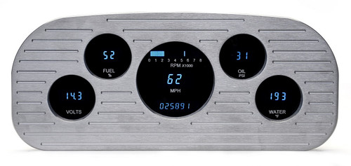 Dakota Digital 35 36 37 Ford Pickup Truck 5 Gauge Dash Cluster VFD3-35F-PU