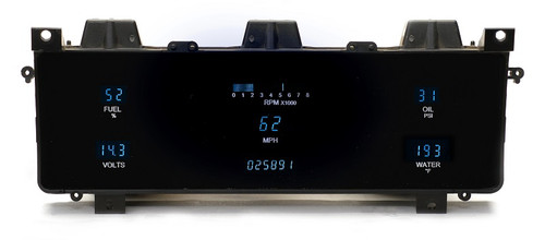 VFD3-86J-WAG with BLUE display, bezel is NOT included