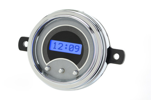 VLK-49F-S-B with SILVER ALLOY style and BLUE backlighting