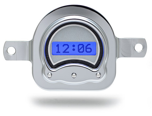 VLK-51F-S-B with SILVER ALLOY style and BLUE backlighting