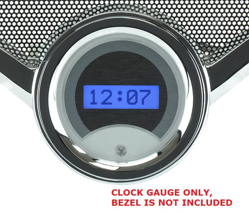 VLK-55C-S-B with SILVER ALLOY style and BLUE backlighting, bezel is NOT included