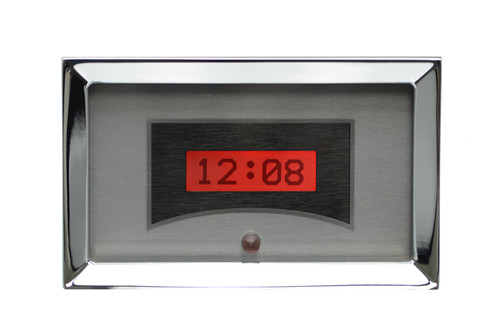 VLK-57C-S-R with SILVER ALLOY style and RED backlighting