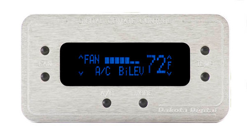 DCC-2200-S-B with SATIN bezel and BLUE display