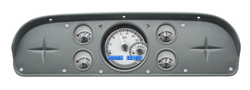 VHX-57F-PU-S-B with SILVER ALLOY style and BLUE backlighting, bezel is NOT included