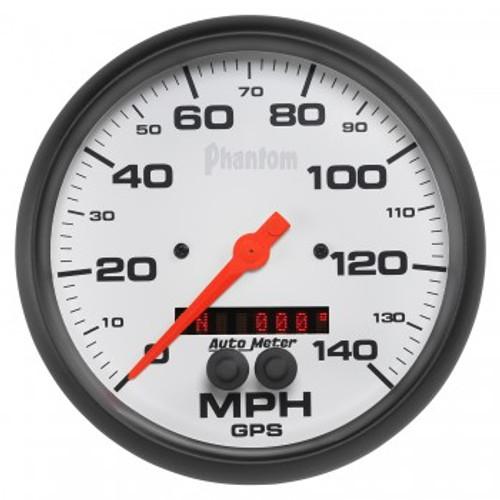 """AutoMeter 5"""" GPS Speedo, Phantom Series"""