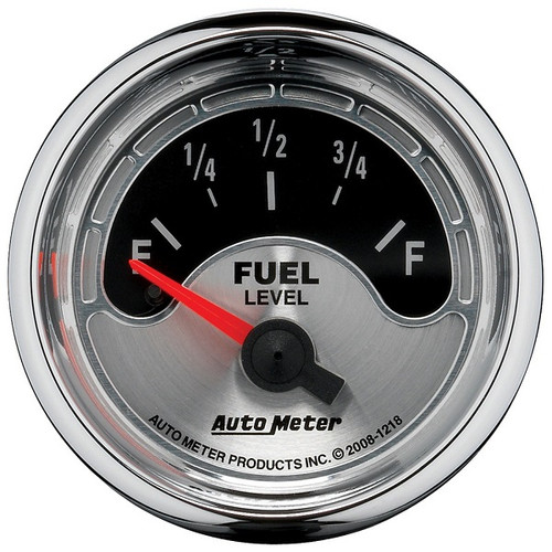 "AutoMeter American Muscle 2-1/16"" Fuel Level Gauge 16-158 Ω - 1218"
