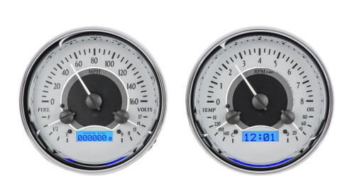 VHX-1014-S-B (Silver Alloy Style/Blue Backlighting)