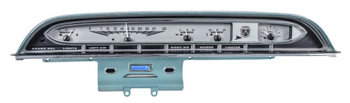 VHX-61F-GAL-S-B with SILVER ALLOY style and BLUE backlighting, bezel shown in pic is NOT included