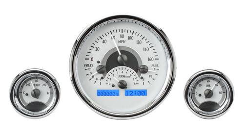 VHX-1013-S-B (Silver Alloy Style/Blue Backlighting)