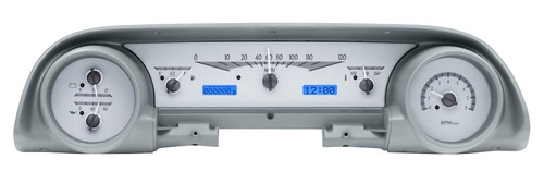 VHX-63F-GAL-S-B with SILVER ALLOY style and BLUE backlighting, bezel is NOT included
